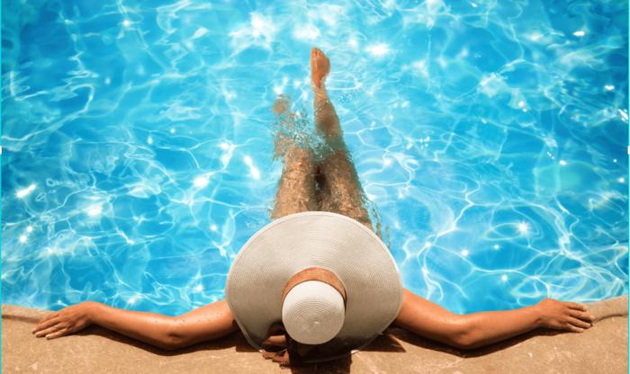 Resort-Style Swimming Pool At Apartment on Ella
